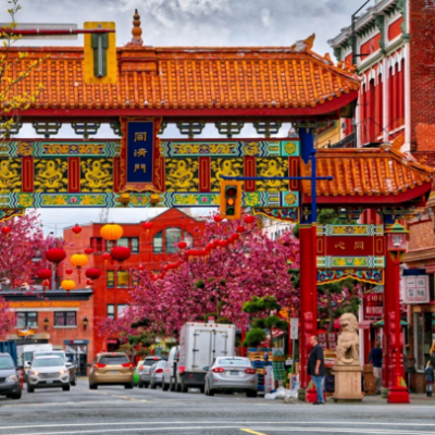 Chinatown Downtown Victoria