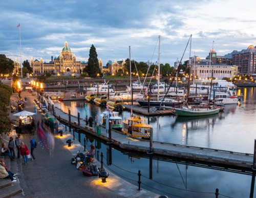 Downtown Victoria Inner Harbour